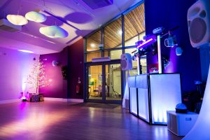Lakeside is an exclusive use venue that offers the option to hire a bar for a party